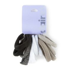 Lurex Tube Ponytail Holders Set of 12 | Claire's