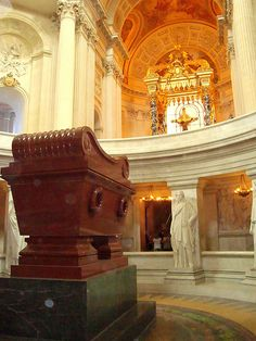 Napoleon's tomb, Hôtel National des Invalides