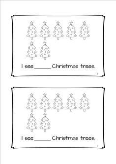 Three Christmas Emergent Readers