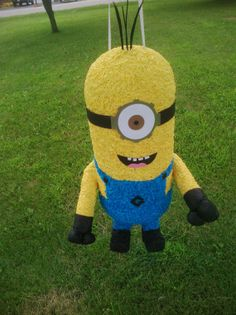 Minion pinata by MissSuziQCreations on Etsy