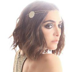 Headband Etincelante  En vente sur : http://www.lesdissonances.fr/boutique/fr/bijoux-de-tete/729-headband-etincelante-double-rosace-dore-brigitte.html