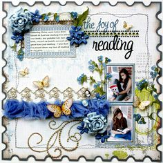 Love this scrapbooking page!!