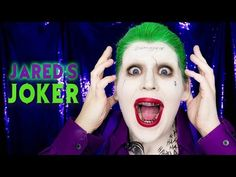 HALLOWEEN MAKEUP TUTORIAL 4:  Jared Leto's Joker From Suicide Squad