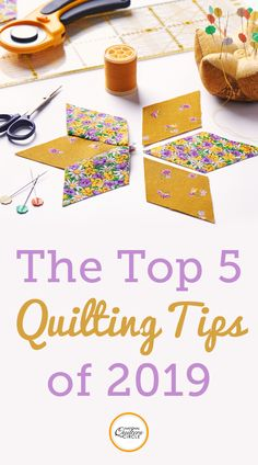 As we near the end of 2019 National Quilters Circle is looking back at what videos and articles our community has found most useful. Weve rounded up our top 5 most popular videos and articles picked by YOU. Read below to see the best of
