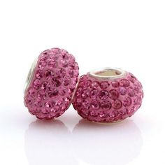 Pink Small Crystal Pandora Beads Jewellry only US$13.2