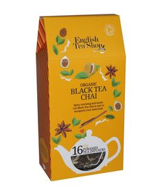ETS 16 fekete Chai tea - bio