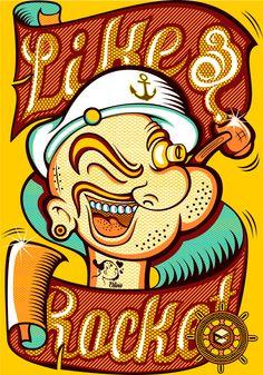 Mr Popeye
