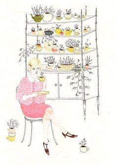 tea please:  Becca Stadtlander seen via JODI WILEY via Marina Molares
