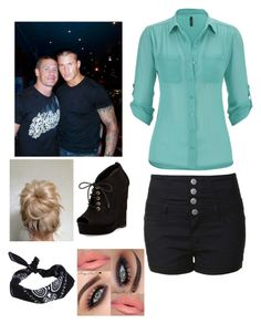 """In the arena with John and randy"" by mlchambers ❤ liked on Polyvore featuring CENA, Glamorous, maurices, Diane Von Furstenberg and ASOS"