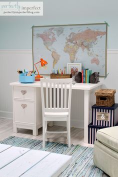 Pottery Barn Kids Playroom | Perfectly Imperfect | Playroom & Study Space Ideas