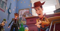 Kingdom Hearts III Game's D23 Expo Trailer Previews Toy Story World