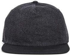 c18bffd0ca3 Saturdays NYC Stanley Italic Denim Snap Hat Saturdays Nyc