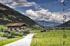 Pohled údolím