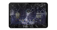 A tablet with a broken screen can be re-used
