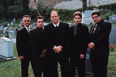 Sopranos cast remembered late actor James Gandolfini, who played crime boss Tony Soprano, at the show's anniversary party — find out what they said! Tony Soprano, Sopranos Cast, Lorraine Bracco, Steve Buscemi, Boardwalk Empire, Blue Bloods, Martin Scorsese, George Clooney, Movies