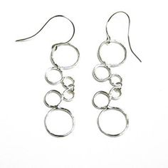 Bubble Earrings Sterling II now featured on Fab.