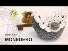 Tutorial Monedero Crochet o Ganchillo - YouTube