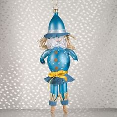 De Carlini Scarecrow Christmas Ornament-Ordered caw