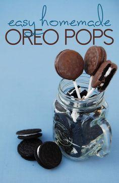 No Bake Oreo Pops