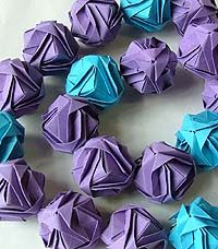 Artist: Anna S. King: Origami Necklace Origami Necklace, Anna, Jewellery, Eye, Paper, Artist, Jewels, Schmuck, Artists