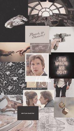 Star Wars Love, Star Wars Fan Art, Star War 3, Star Wars Wallpaper Iphone, Marvel Wallpaper, Han And Leia, Star Wars Pictures, Star Wars Humor, Love Stars