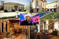Homes Of Country Music Stars 2017