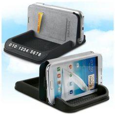 [Gram Pics] Nonslip Multi Tomato Smart Phone Standing Cradle Storage Board_300011