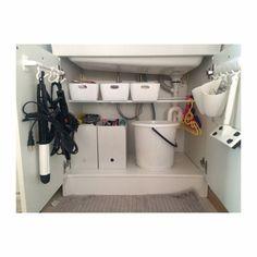 SHIMA5687さんの、セリア,北欧,無印良品,小さなお家,建売住宅,洗面所,洗面所 収納,整理収納部,つっぱり棒,ドライヤー収納,ニトリ,バス/トイレ,のお部屋写真