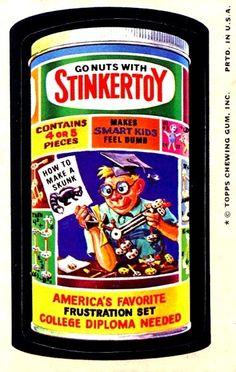 WACKY PACK WHIZ BANG VISIONS OF VINTAGE WACKIES...