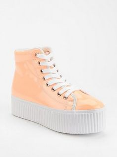 urban outfitters. platform sneakers.