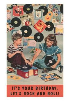 Kids listening to records #vintage #vinyl #lp #record #album
