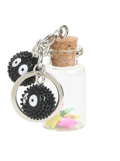 This soot sprite keychain that ensures their candies are always nearby.   33 Gifts That Any Miyazaki Lover Will Go Nuts Over
