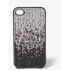 FOREVER 21 Rhinestoned Phone Case ($8.80) ❤ liked on Polyvore