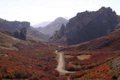 Otoño San Martín de los Andes (Paso Córdoba) Neuquén, Patagonia Argentina