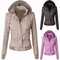 Item Type:Coats&Jackets Tops Type:Coats Gender:Women Decoration:Button Clothing Length:Regular Sleev