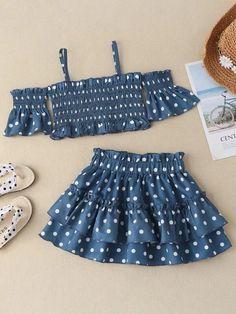 Kids Maxi Dresses, African Dresses For Kids, Baby Girl Dresses, Baby Dress, Short Dresses, Cotton Frocks For Kids, Baby Frocks Designs, Frock Design, Layered Skirt