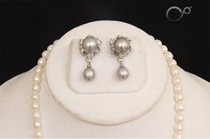 Pearl Jewelry - Mesmerizing Drops (Check Category - Pearl Sets) @  http://store.charminarpearls.com/?a=079