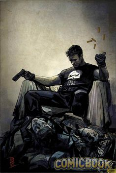 EXCLUSIVE: Marvel Launches The Punisher With Becky Cloonan And Steve Dillon | Comicbook.com