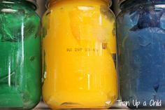 Edible Sensory Paint ~ Learn Play Imagine