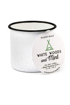A mix of cooling mint and sultry woods this candle is perfect for sitting back and relaxing by yourself. -    -9.5 OZ -Hand Poured in USA   Alpine Mint Candle by Paddywax. Home & Gifts - Home Decor - Candles & Scents Providence, Rhode Island