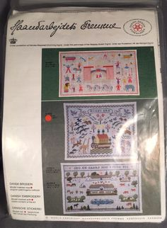 haandarbejdets fremme danish cross stitch Kit NOAHS ARK | Crafts, Needlecrafts & Yarn, Embroidery & Cross Stitch | eBay!