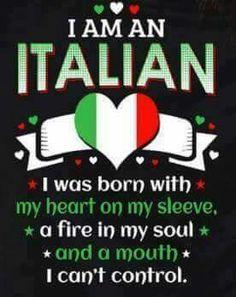 I am 100% Italian American