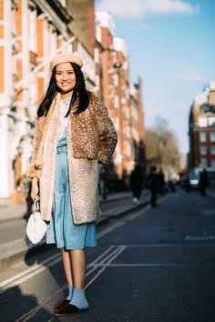 The faux fur coat is officially de riguer for fashion week attendees. From crazy colourful to playful prints, here are the looks we can't wait to copy