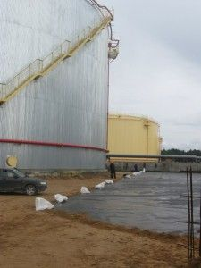 Geomembrane Liners Used in Oil Tank