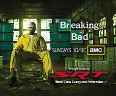 Breaking Bad Great show...hate to see it go...but can't imagine what else they could do!!