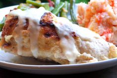 Baked Chicken Breasts with Horseradish Cream Sauce