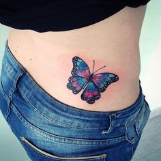 Increible Mariposa Azul