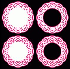 Doily Circles 3 by Bird