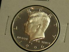 1996-S GEM PROOF KENNEDY HALF DOLLAR UNCIRCULATED FROM SEALED MINT ISSUED SET