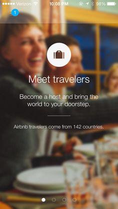Airbnb﹣top bar